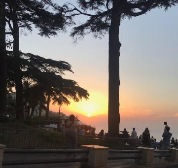 Sorrento sun set